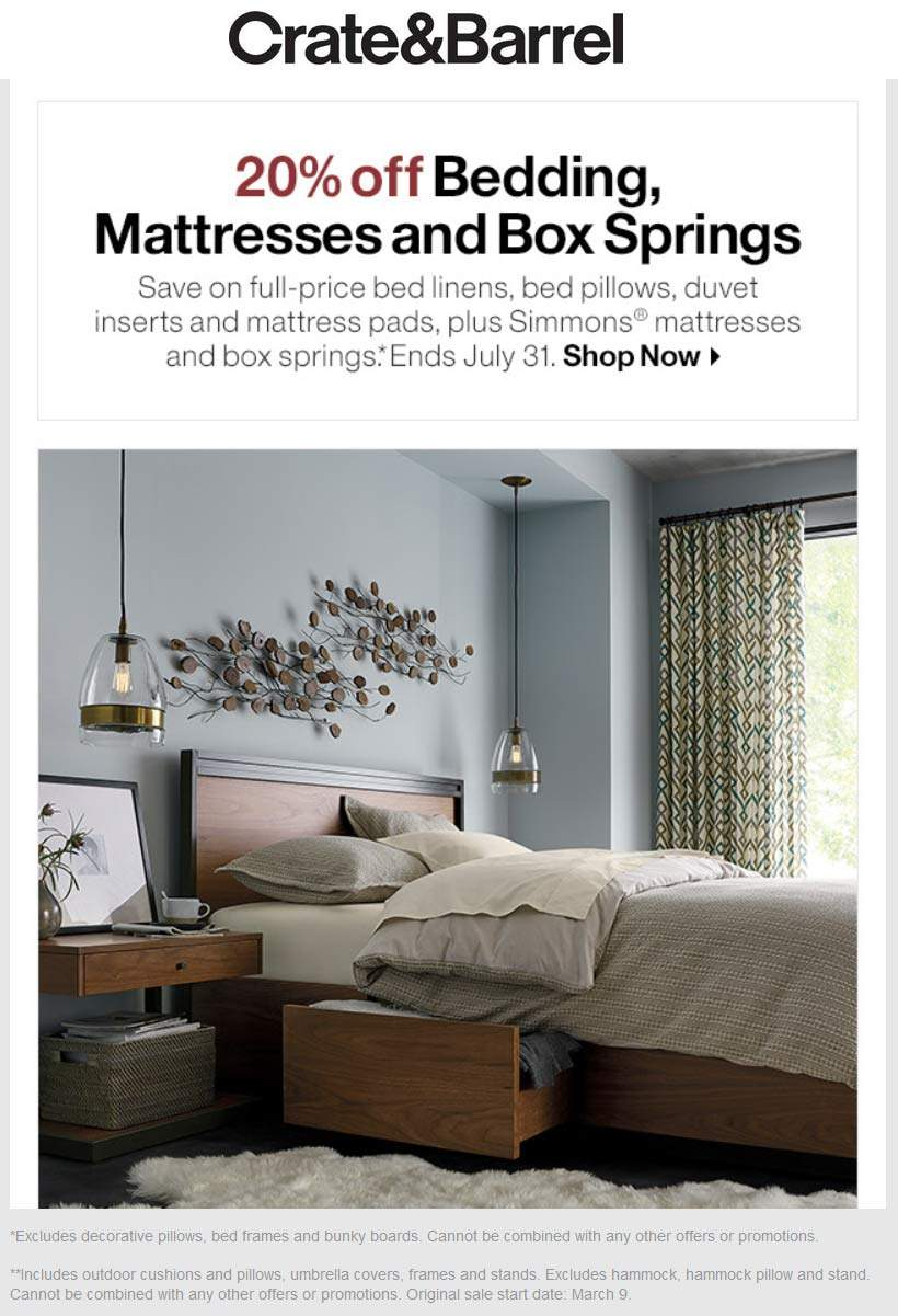 Crate Barrel November 2020 Coupons And Promo Codes