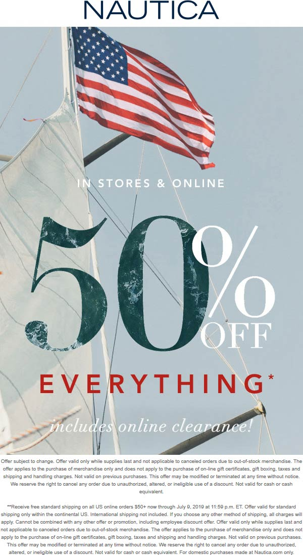Nautica coupons & promo code for [April 2021]