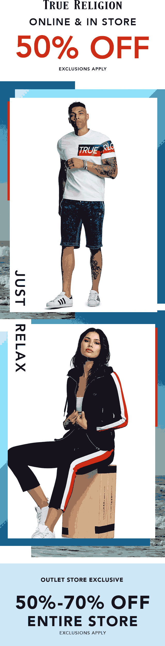 True Religion coupons & promo code for [September 2020]