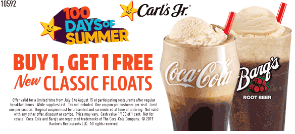 Carls Jr coupons & promo code for [April 2020]