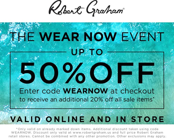 Robert Graham coupons & promo code for [July 2020]