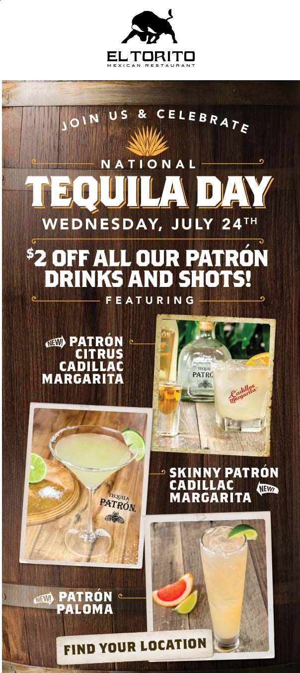 El Torito coupons & promo code for [January 2021]