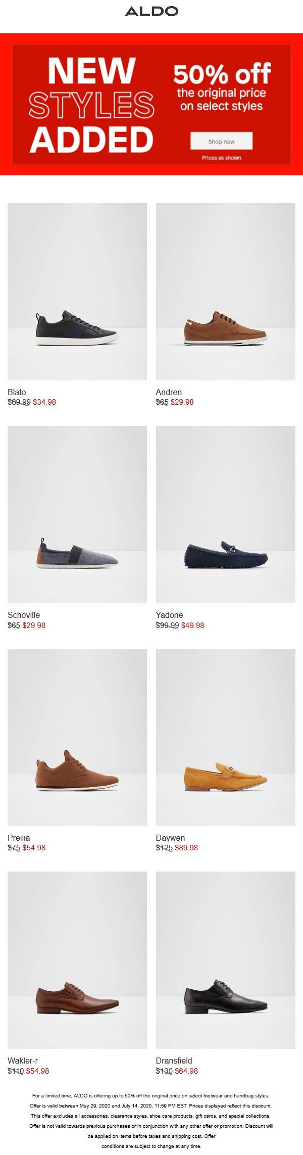 aldo shoes promo cheap online