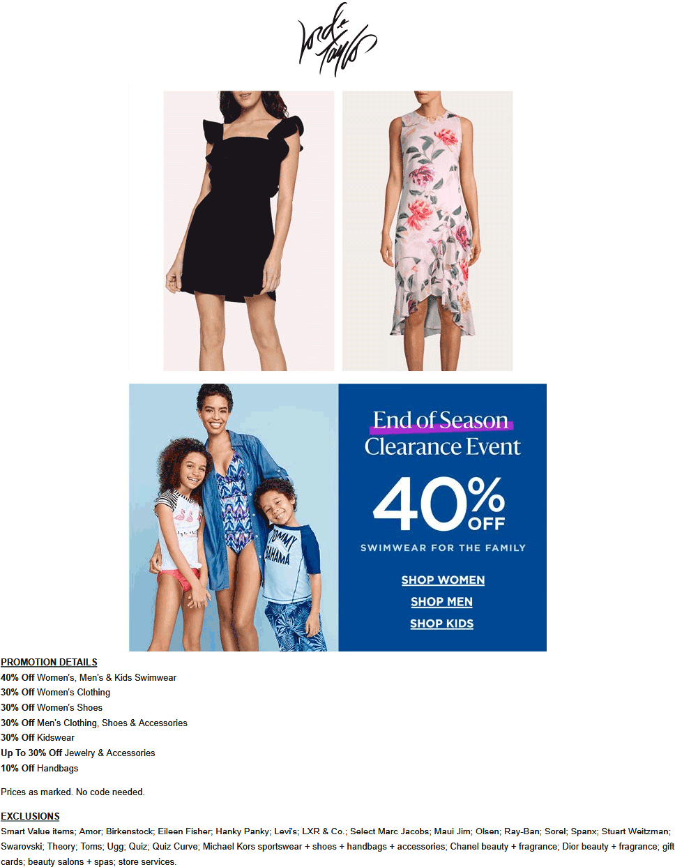 Lord & Taylor coupons & promo code for [August 2020]