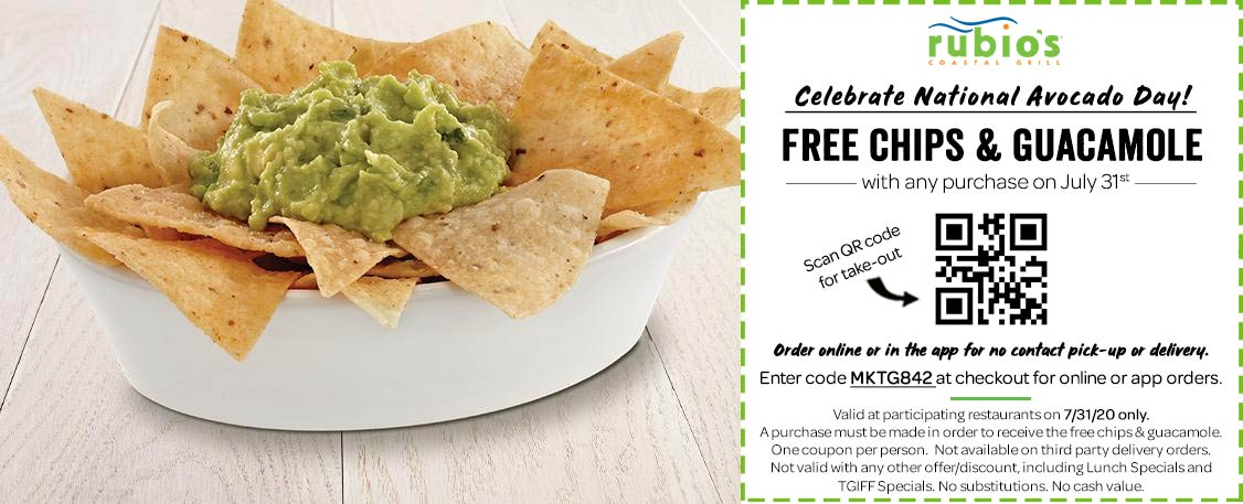 Rubios coupons & promo code for [September 2020]