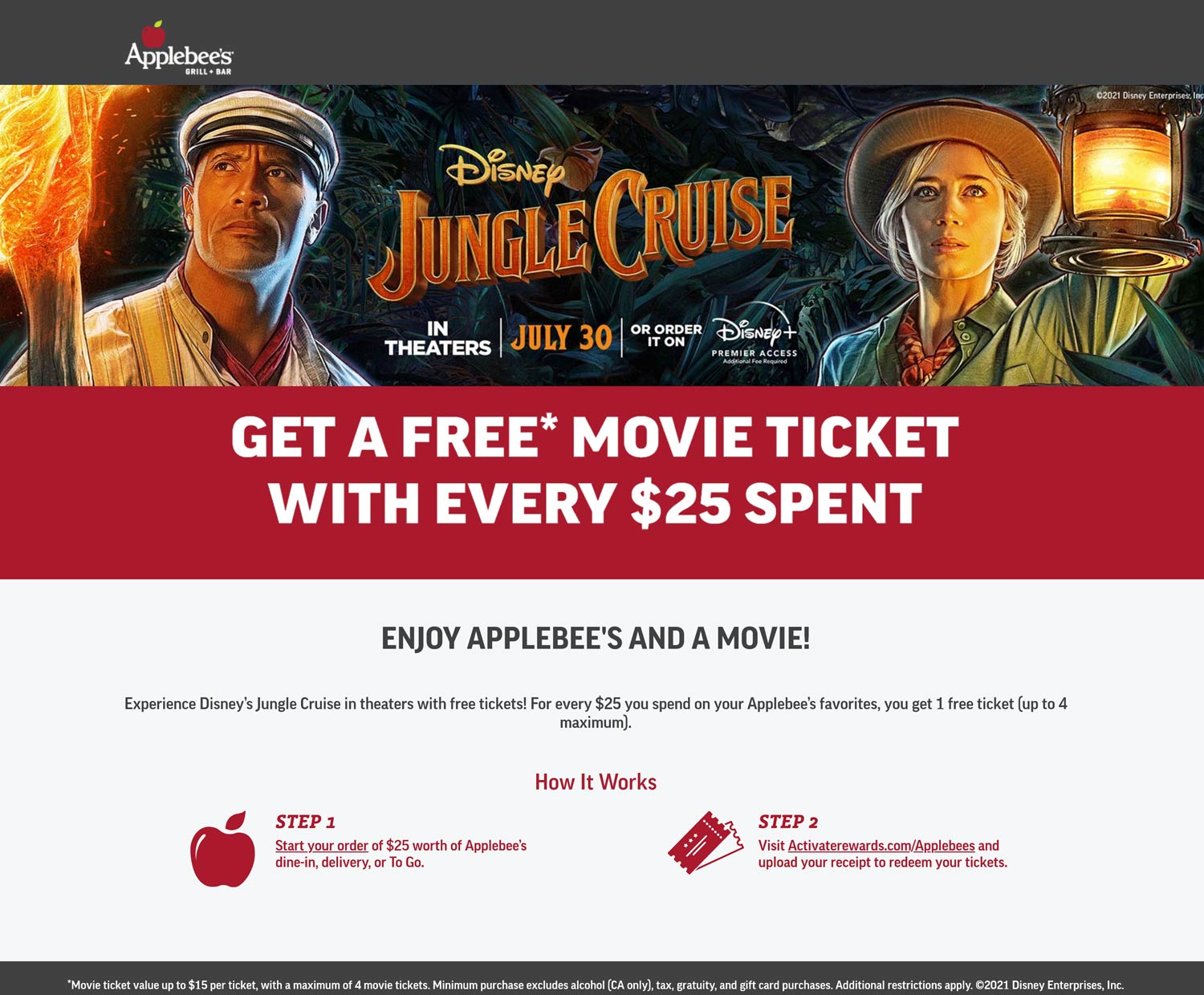 Applebees coupons & promo code for [September 2021]