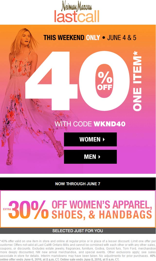 Extra 40% To 80% Off Apparel