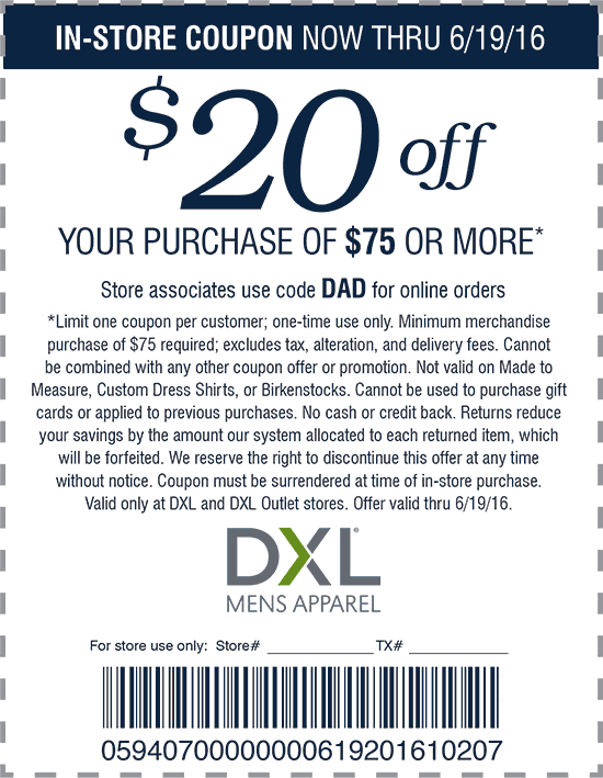photograph about Dxl Printable Coupons named Dxl discount coupons in just retail store / Grand lodge inside grand canyon