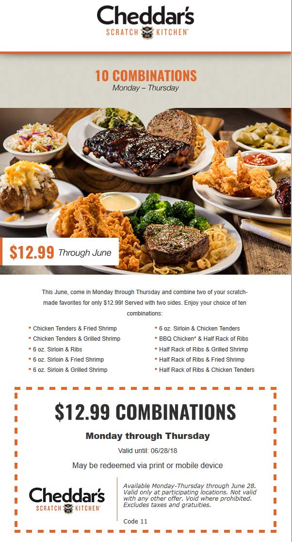 photo regarding Cheddars Coupons Printable named Cheddars Coupon codes 3 Printable Discount coupons for Could 2018 -