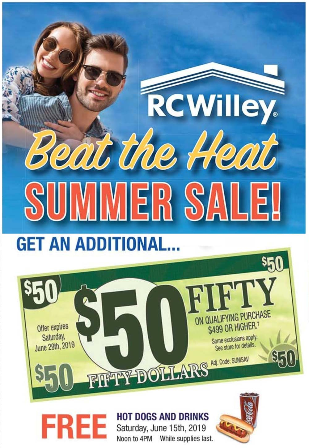 RC Willey coupons & promo code for [January 2021]