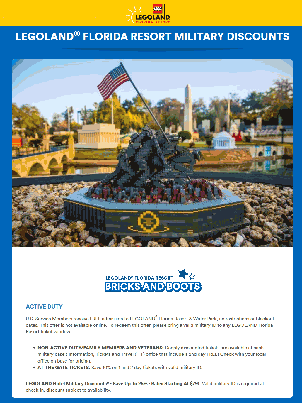 LEGOLAND coupons & promo code for [January 2021]