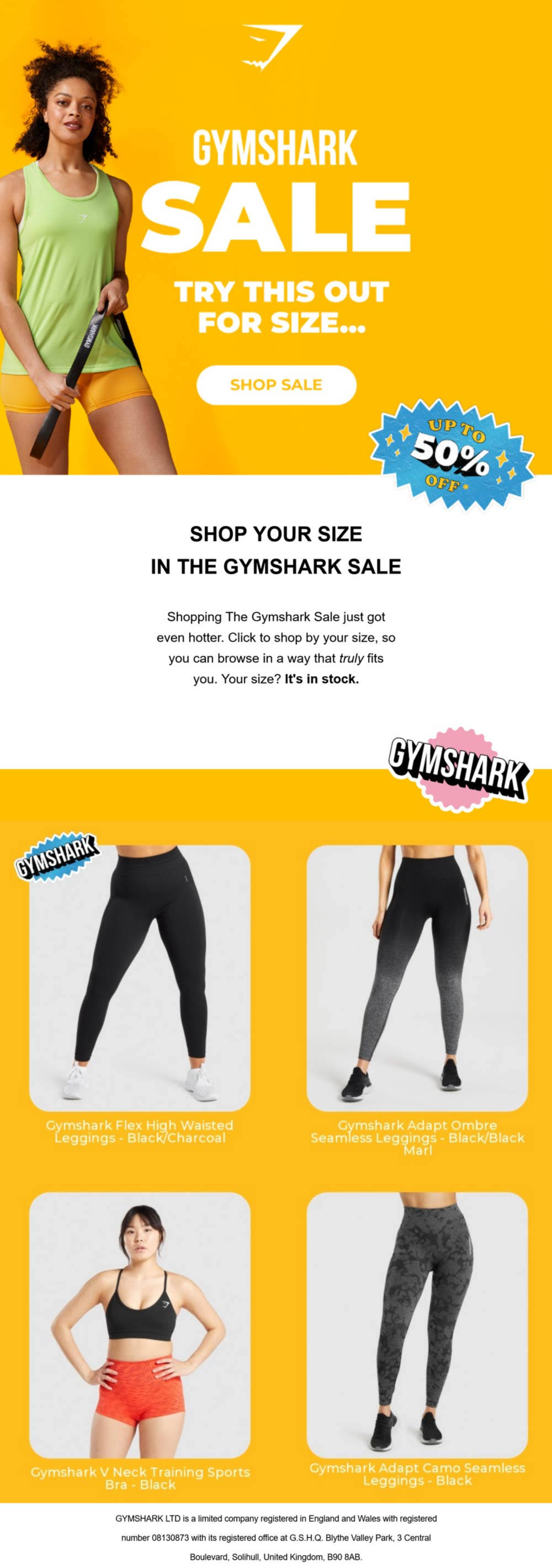 Gymshark coupons & promo code for [June 2021]