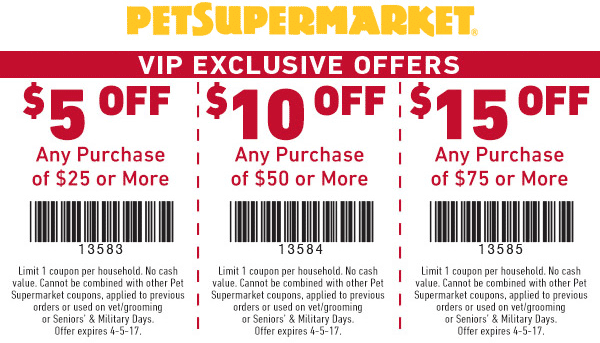 image regarding Pet Supermarket Coupons Printable called Puppy Grocery store Coupon codes - $5 off $25 even further at Doggy Grocery store