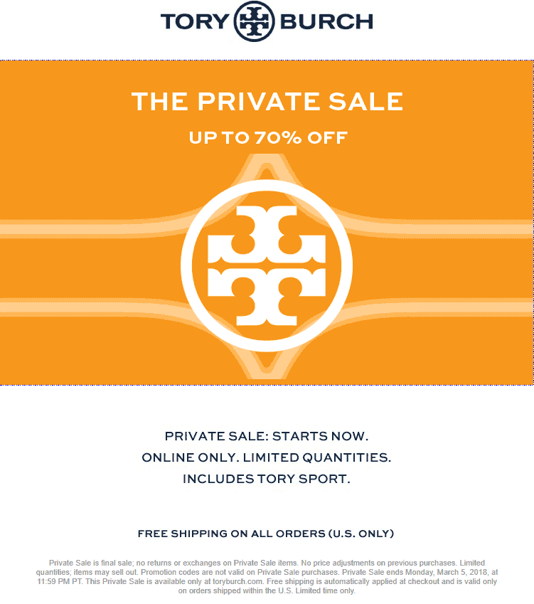 e5ce93a225ede Tory Burch Coupon March 2019 70% off online clearance sale going on at Tory  Burch
