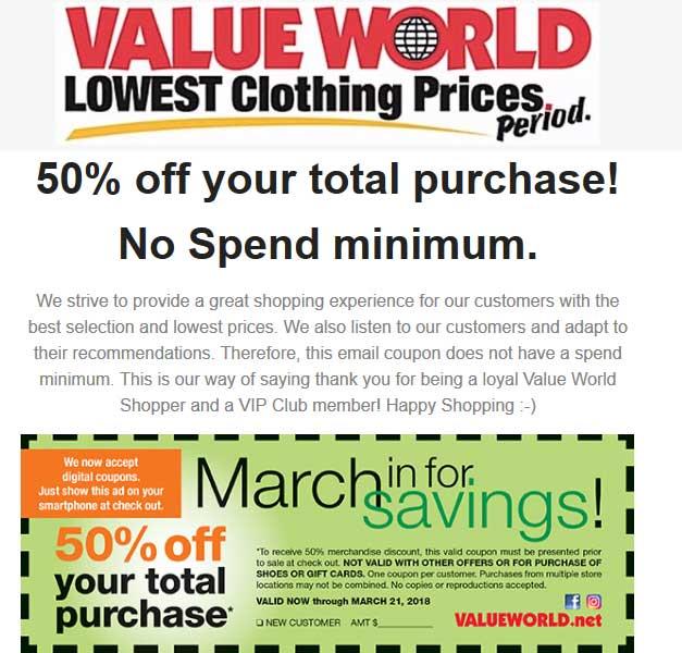 shopper world coupons