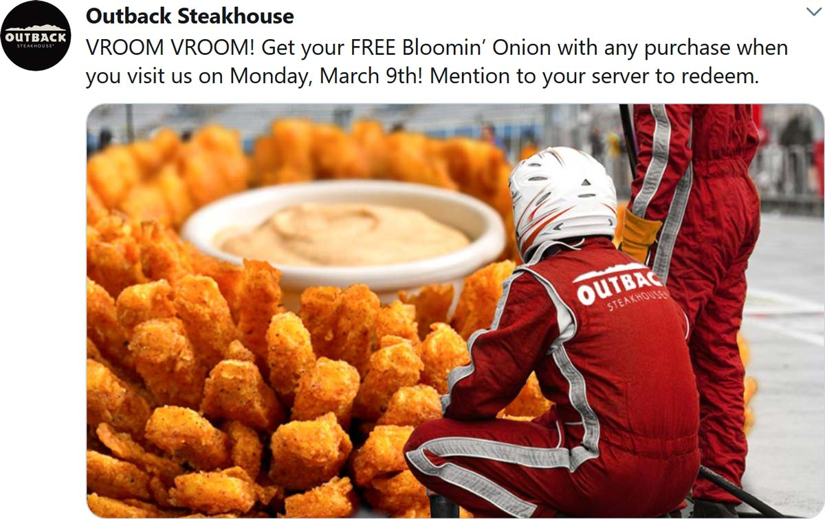 Outback Steakhouse coupons & promo code for [July 2021]