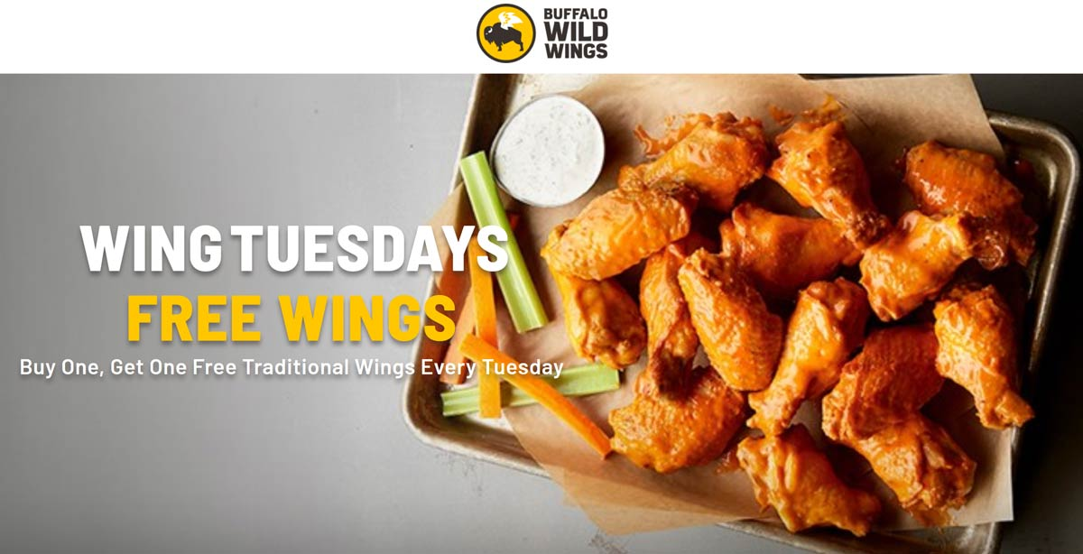Buffalo Wild Wings coupons & promo code for [July 2020]