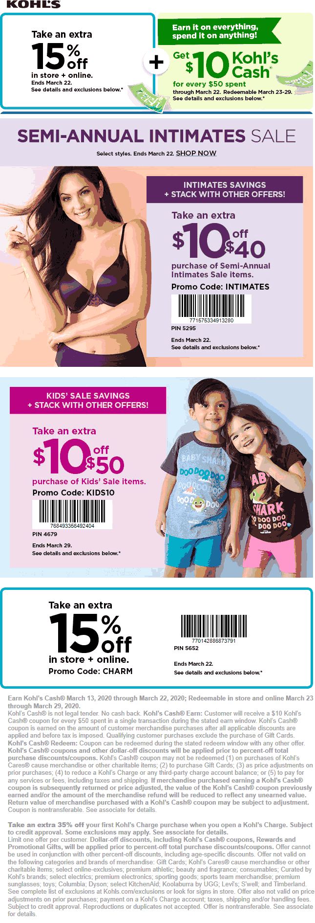 Kohls coupons & promo code for [September 2020]