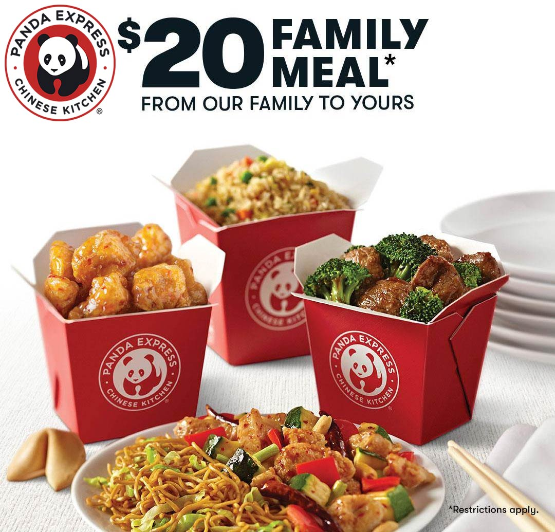 Panda Express coupons & promo code for [February 2021]
