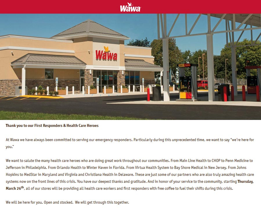 Wawa coupons & promo code for [August 2020]