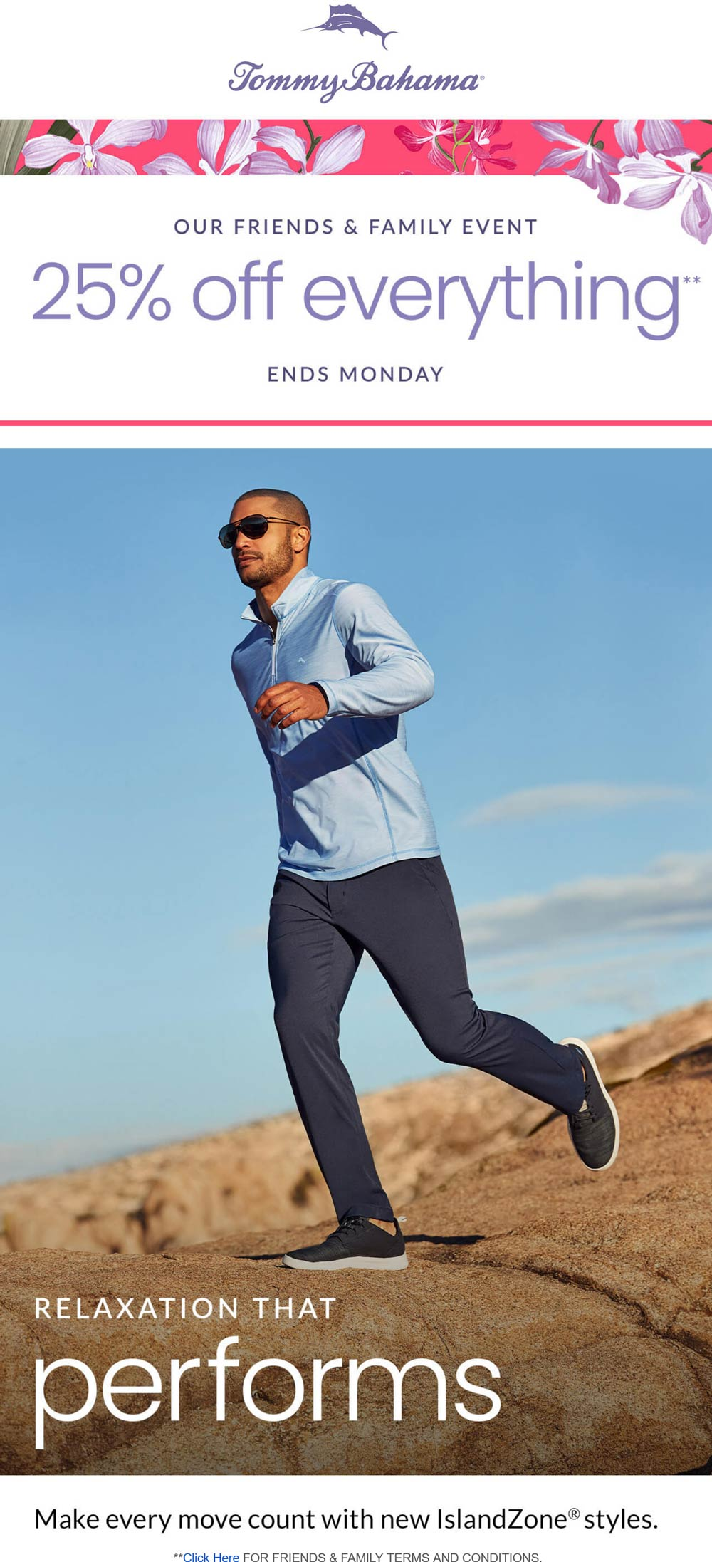 Tommy Bahama stores Coupon  25% off everything at Tommy Bahama, ditto online #tommybahama