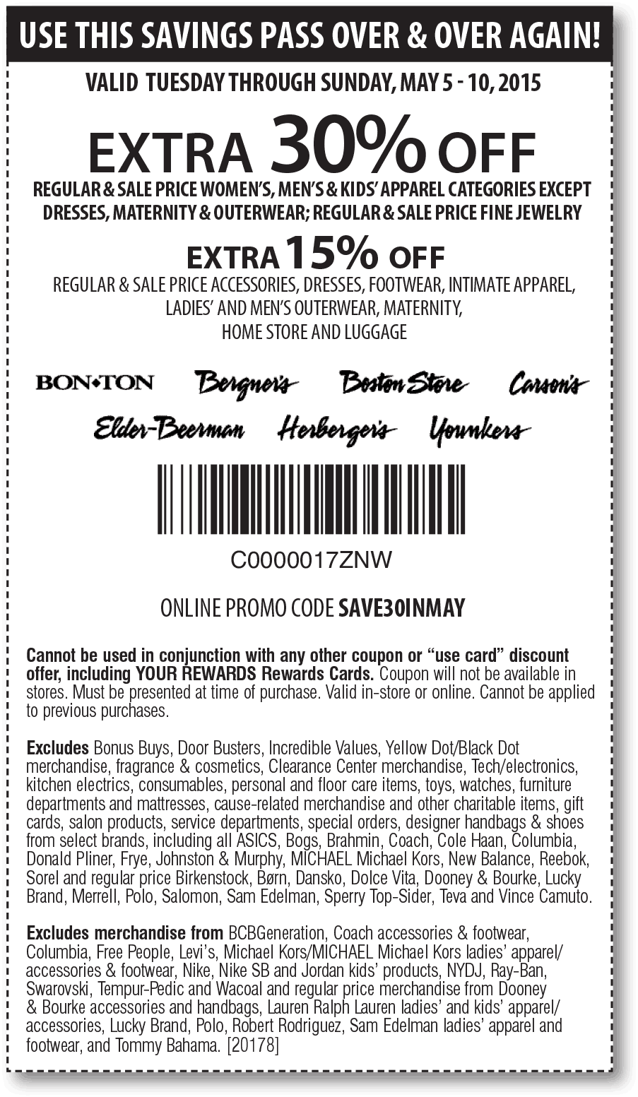 Carsons coupons & promo code for [June 2020]
