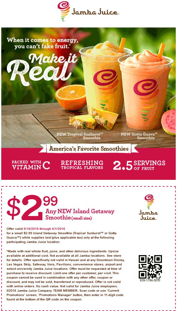 Jamba juice coupon buy one get one free 12222