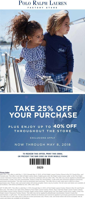 Kundschaft zuerst gutes Angebot Kostenloser Versand Polo Ralph Lauren Factory Coupons - Extra 30% off at Polo ...