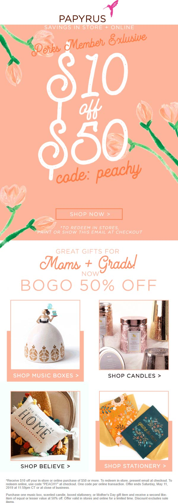 Papyrus coupons & promo code for [April 2020]