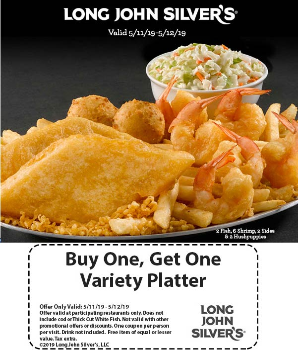Long John Silvers coupons & promo code for [April 2020]