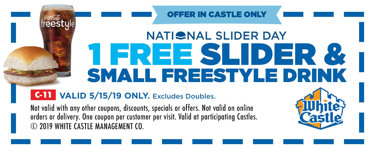 White Castle coupons & promo code for [April 2021]