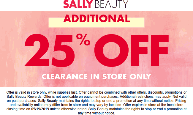Sally Beauty coupons & promo code for [July 2020]