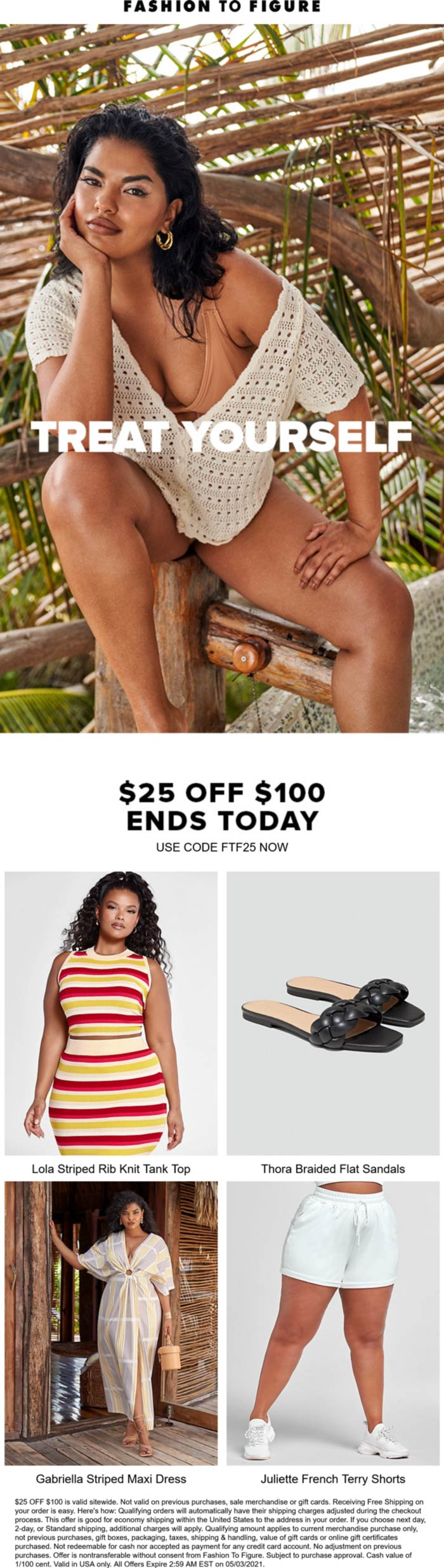 Fashion to Figure coupons & promo code for [May 2021]