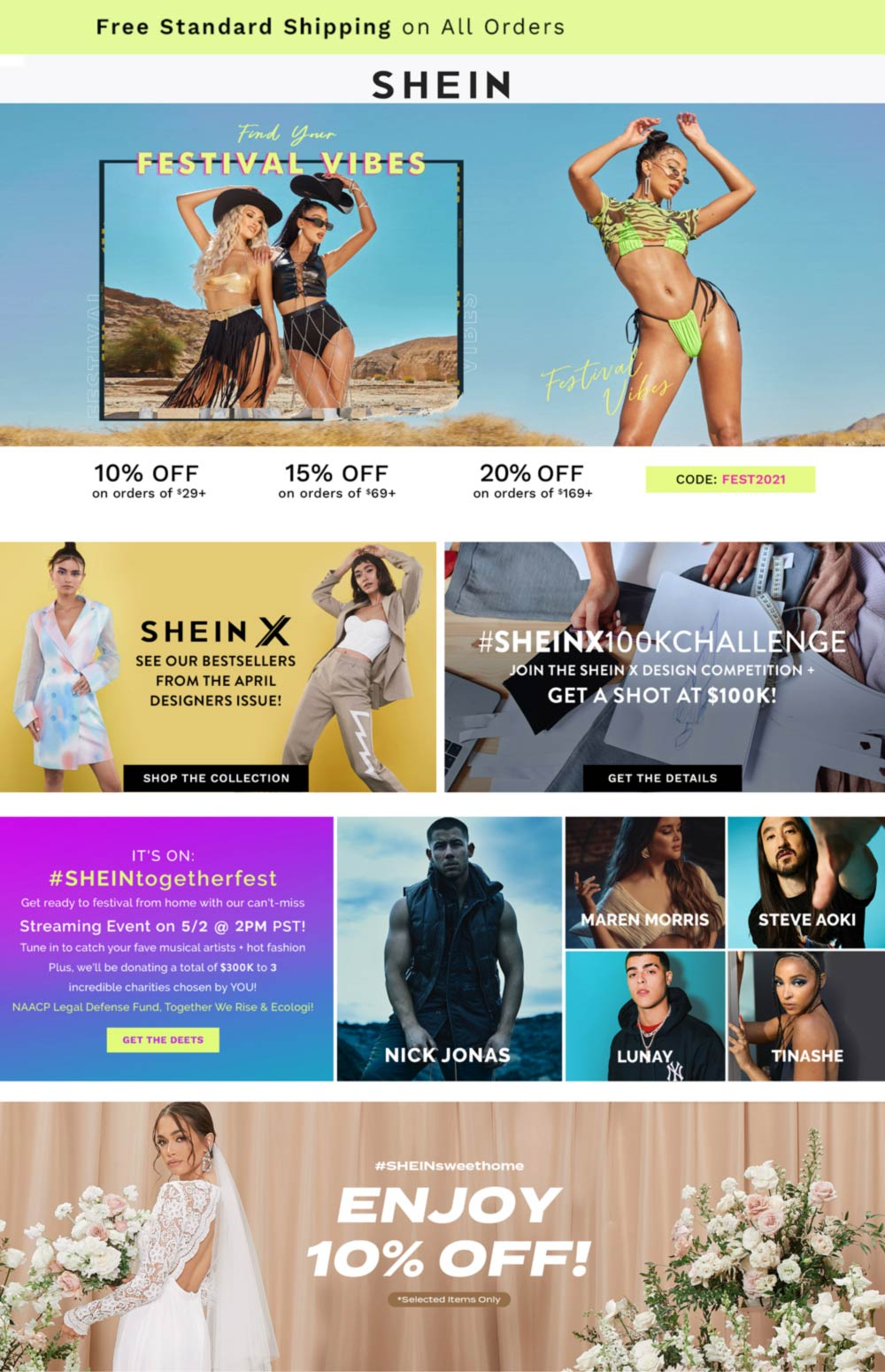 SHEIN coupons & promo code for [May 2021]