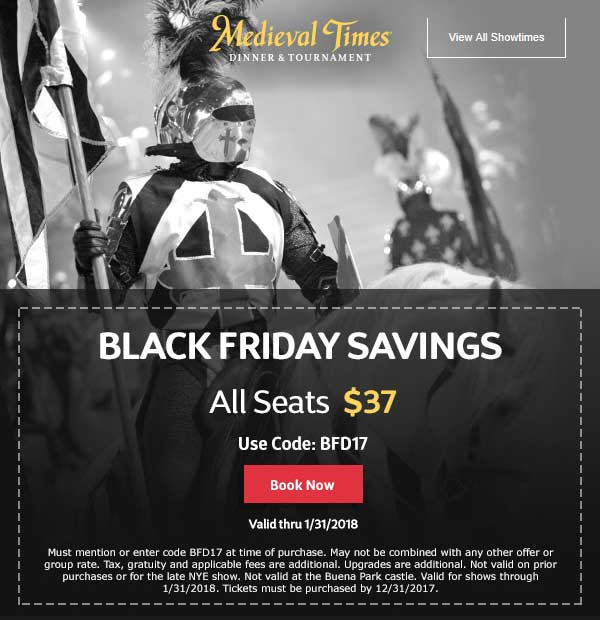 medieval coupons 2019