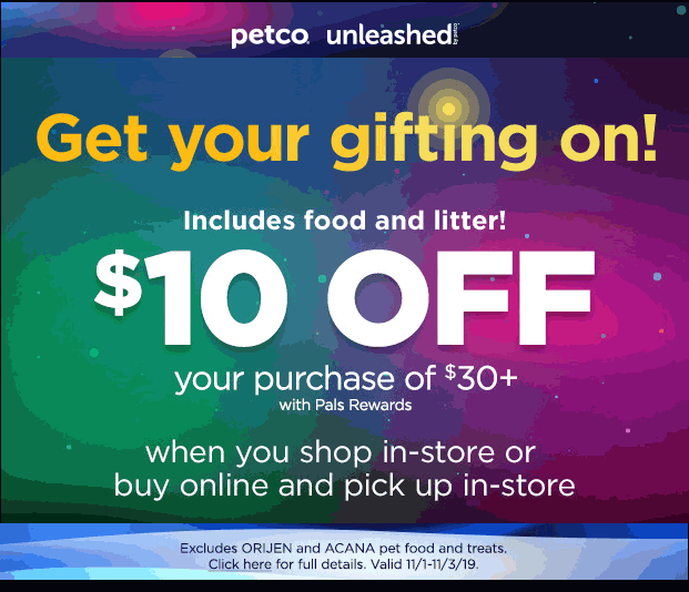 Petco coupons & promo code for [January 2021]