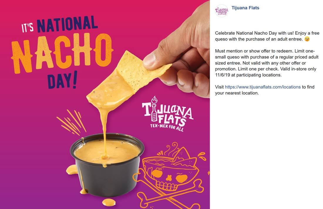 Tijuana Flats coupons & promo code for [August 2020]