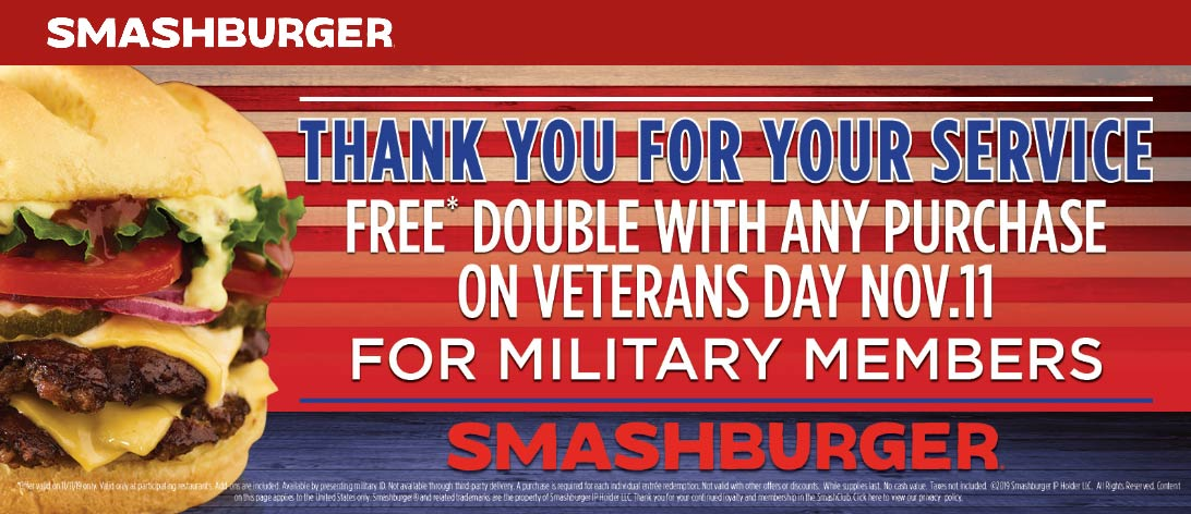 Smashburger coupons & promo code for [October 2020]