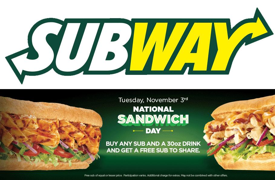 Subway November 2020 Coupons And Promo Codes