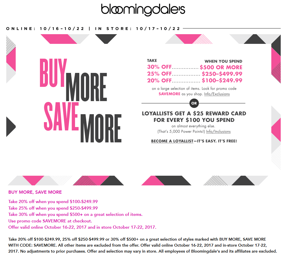 photo about Bloomingdales Printable Coupons named Bloomingdales promo code on line - How toward crank out grownup