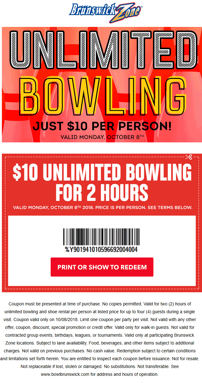 Brunswick coupons & promo code for [February 2020]