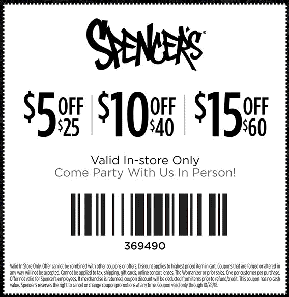 Spencers coupons & promo code for [January 2021]