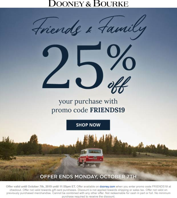 Dooney & Bourke coupons & promo code for [January 2021]