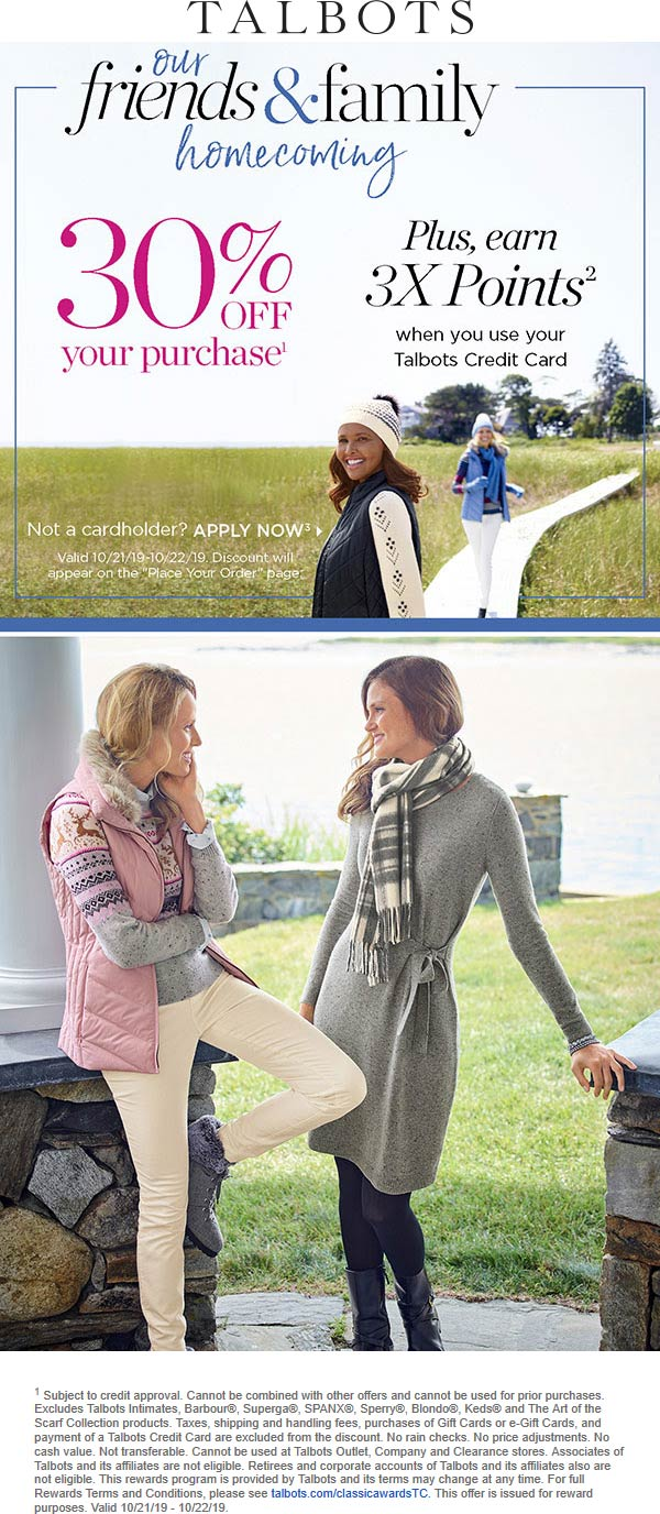 Talbots coupons & promo code for [May 2021]