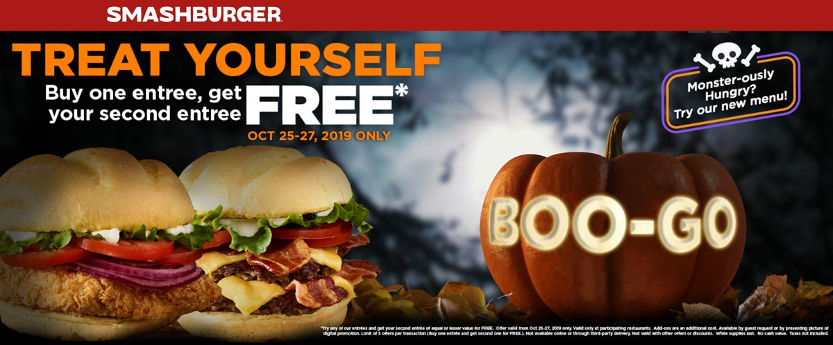 Smashburger coupons & promo code for [April 2021]