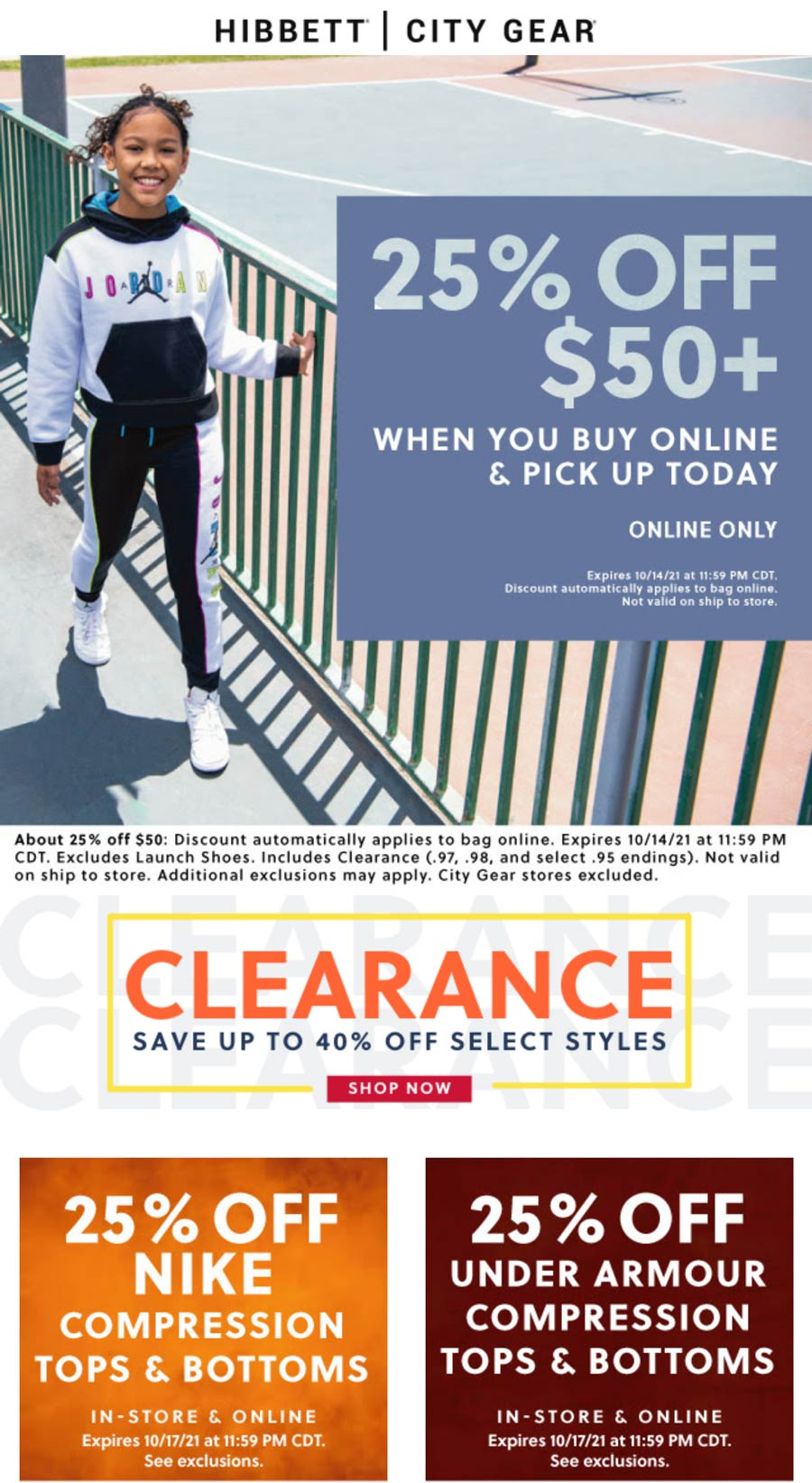 Hibbett Sports coupons & promo code for [October 2021]