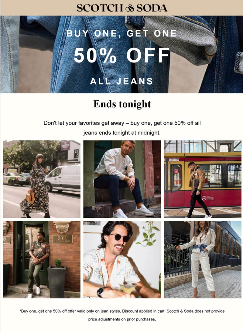 Scotch & Soda coupons & promo code for [October 2021]