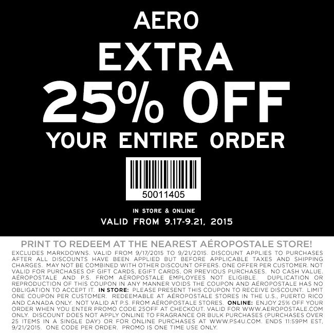 Aeropostale November 2020 Coupons And Promo Codes