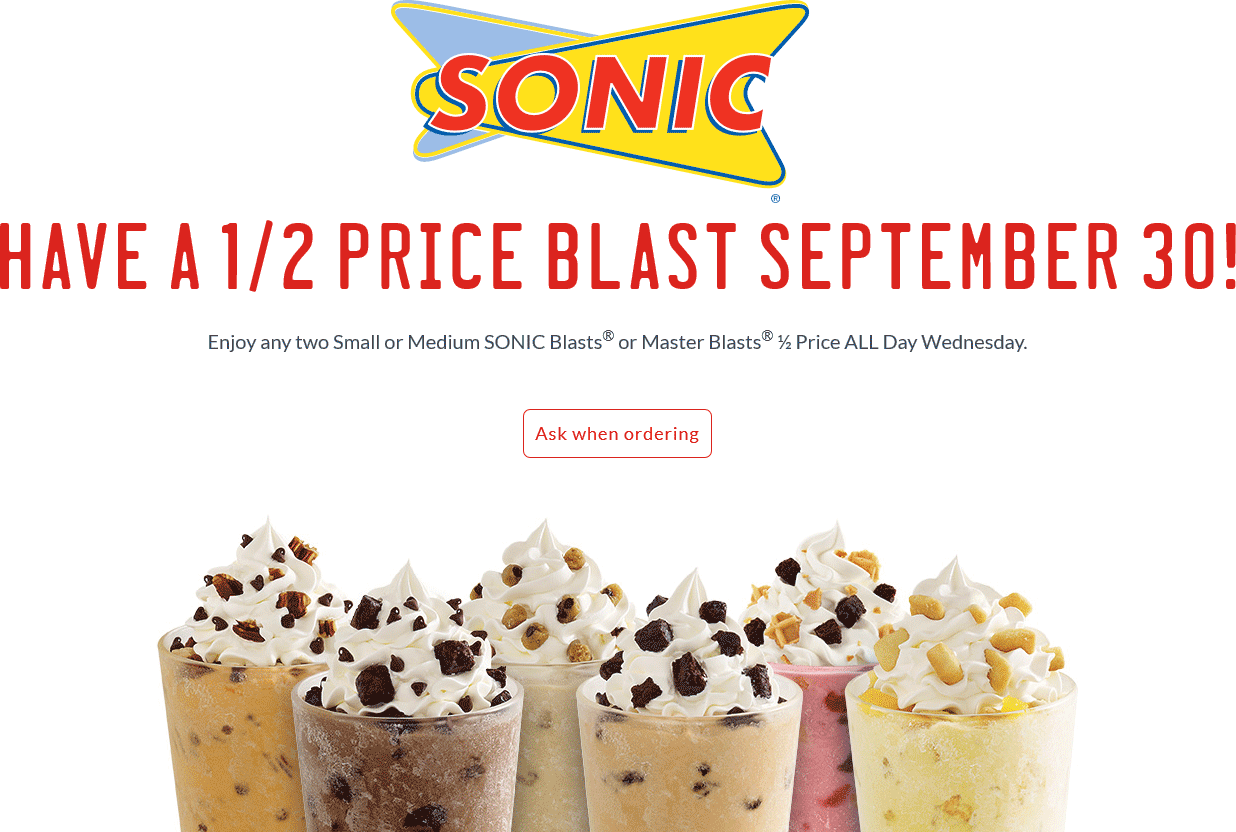 This is a picture of Magic Sonic Printable Coupon