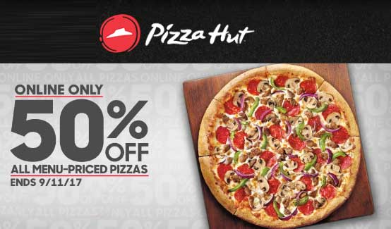 pizza hut coupons 2019 online